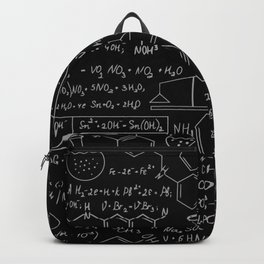 Chemistry Pattern Backpack