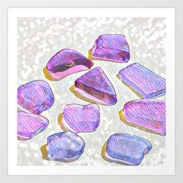 Sea Glass I Art Print
