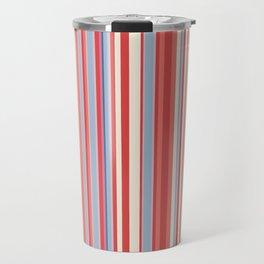 Stripe obsession color mode #3 Travel Mug