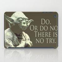 yoda iPad Cases featuring Yoda by DisPrints