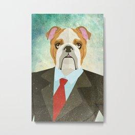 Mr. Woof Metal Print