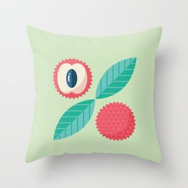 Lychee Throw Pillow