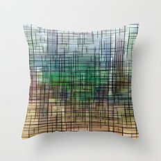 gridscape Throw Pillow