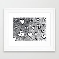 cookies Framed Art Prints featuring cookies by Pietro