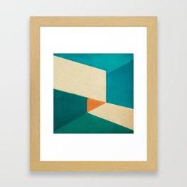Direction Change 7 Framed Art Print