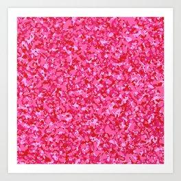 Camo 4 - Pink Attack Art Print