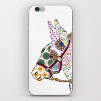 donkey iPhone & iPod Skins featuring DONKEY by Mai Kurihara