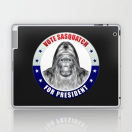 Sasquatch For President Laptop & iPad Skin