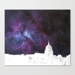 Far Out Madison, Wisconsin Canvas Print