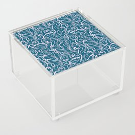 Movin' and Shakin' Teal/Pink Acrylic Box