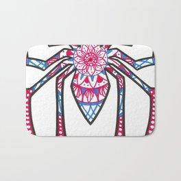 Spidermandala Bath Mat