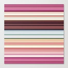 Sandwich cookie stripes Canvas Print