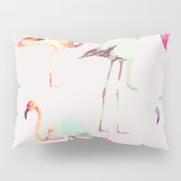 Flamingo Formation #society6 Pillow Sham