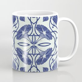 Blue Morning Glory Coffee Mug