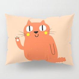 Hello Cat Pillow Sham