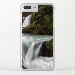 Spirit of the Forest [Horizontal] Clear iPhone Case