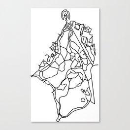 Walking Paths of Prospect Park Canvas Print