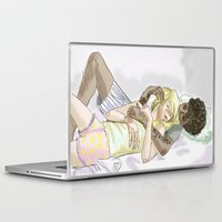 les mis Laptop & iPad Skins featuring Sleeping pRouvaire Les Mis by Pruoviare
