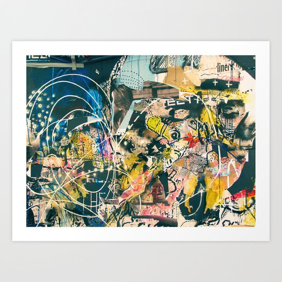Graffiti is Art (Abstract) Art Print