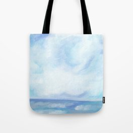 Warm Fall Days - Tropical Ocean Seascape Tote Bag