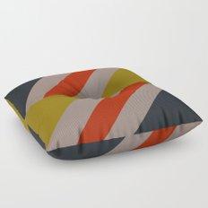 Modernist Geometric Graphic Art Floor Pillow