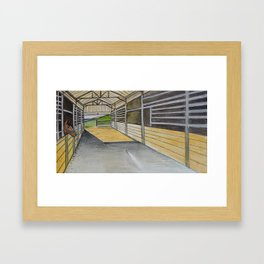 A Lovely Day for a Ride Framed Art Print