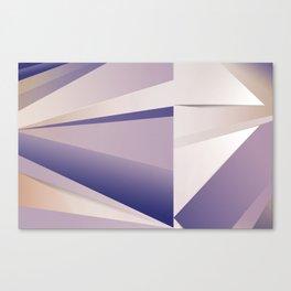 Purple Glam Canvas Print