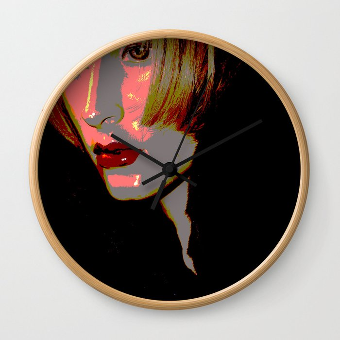 Sassoon Crop Wall Clock