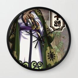 Zoro wano  - One piece Wall Clock