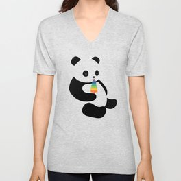 Panda Dream Unisex V-Neck