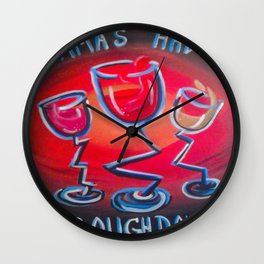 Momma's Had a Rough Day Wall Clock