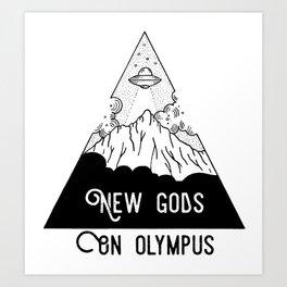 New Gods Art Print