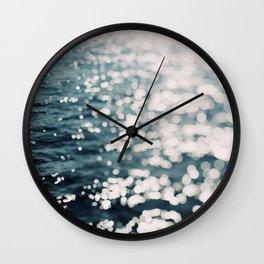 Sea Spark Wall Clock