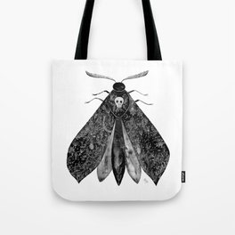 The Moth and All His Friends Tote Bag