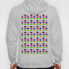 Map of Usa -america,us,united states,american,new york,hollywood,spangled,banner,star and strips Hoody