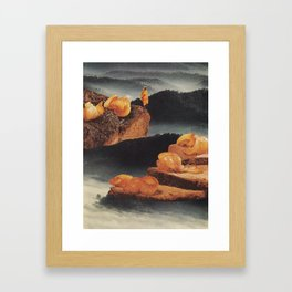 Fasting Framed Art Print