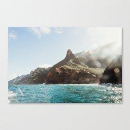 Napali Glow Canvas Print