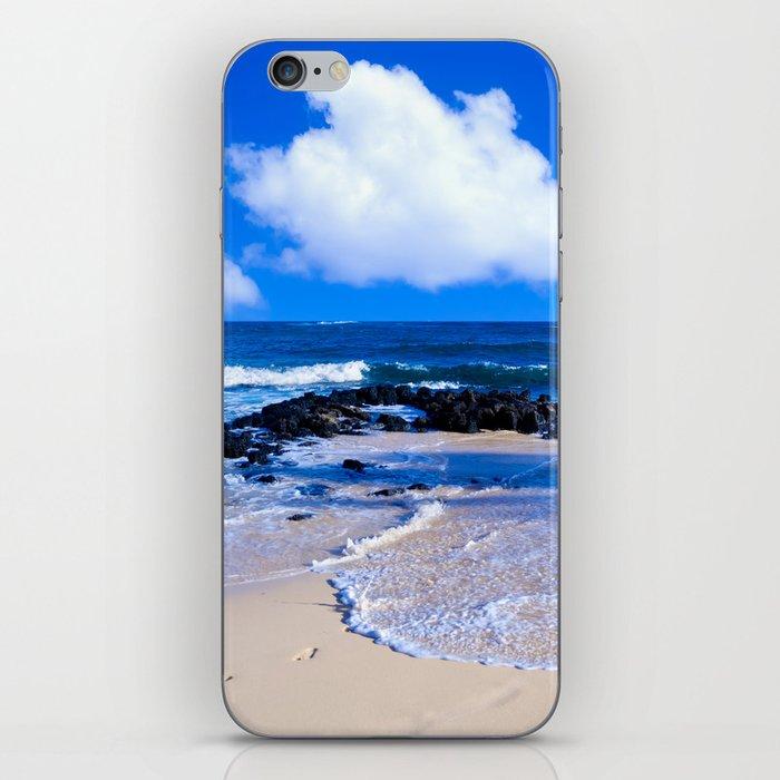 Hawaiian beach2 iPhone Skin