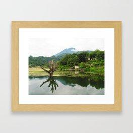 Lake Atitlan, San Jose, Guatemala  Framed Art Print