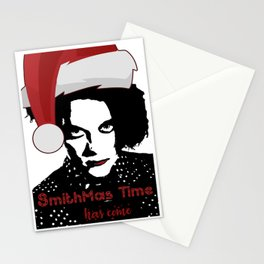 Robert Smith Christmas The Cure Stationery Cards