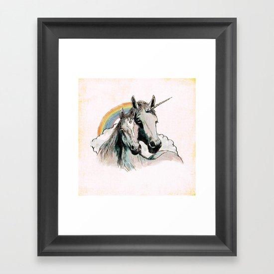 Unicorn III Framed Art Print