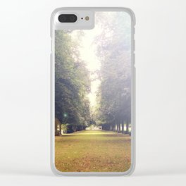 Lens Flare Avenue Clear iPhone Case