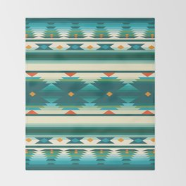 American Native Pattern No. 160 Throw Blanket
