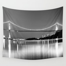Lions Gate Wall Tapestry