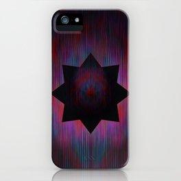 Positron Star iPhone Case