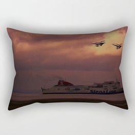 Returning Home Rectangular Pillow