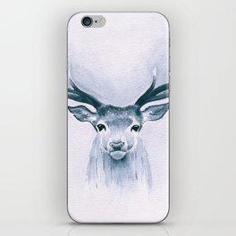 Watercolor Deer iPhone Skin