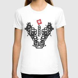 Antimainstream typograph T-shirt