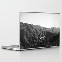 the mountains are calling Laptop & iPad Skins featuring the mountains are calling by likemorningsun