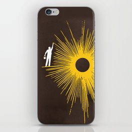 Beaming iPhone Skin